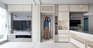 Feng shui smart apartment